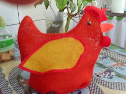 Galinha porta ovos!!