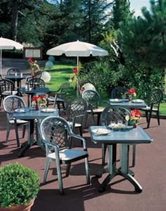 Outdoor Commercial Furniture : commercial outdoor restaurant furniture . Our canteen style, outdoor ...