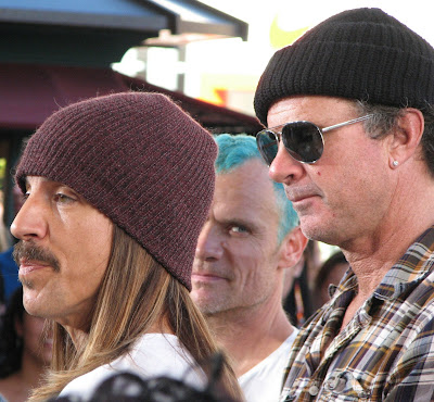 Red Hot Chili Peppers paparazzi