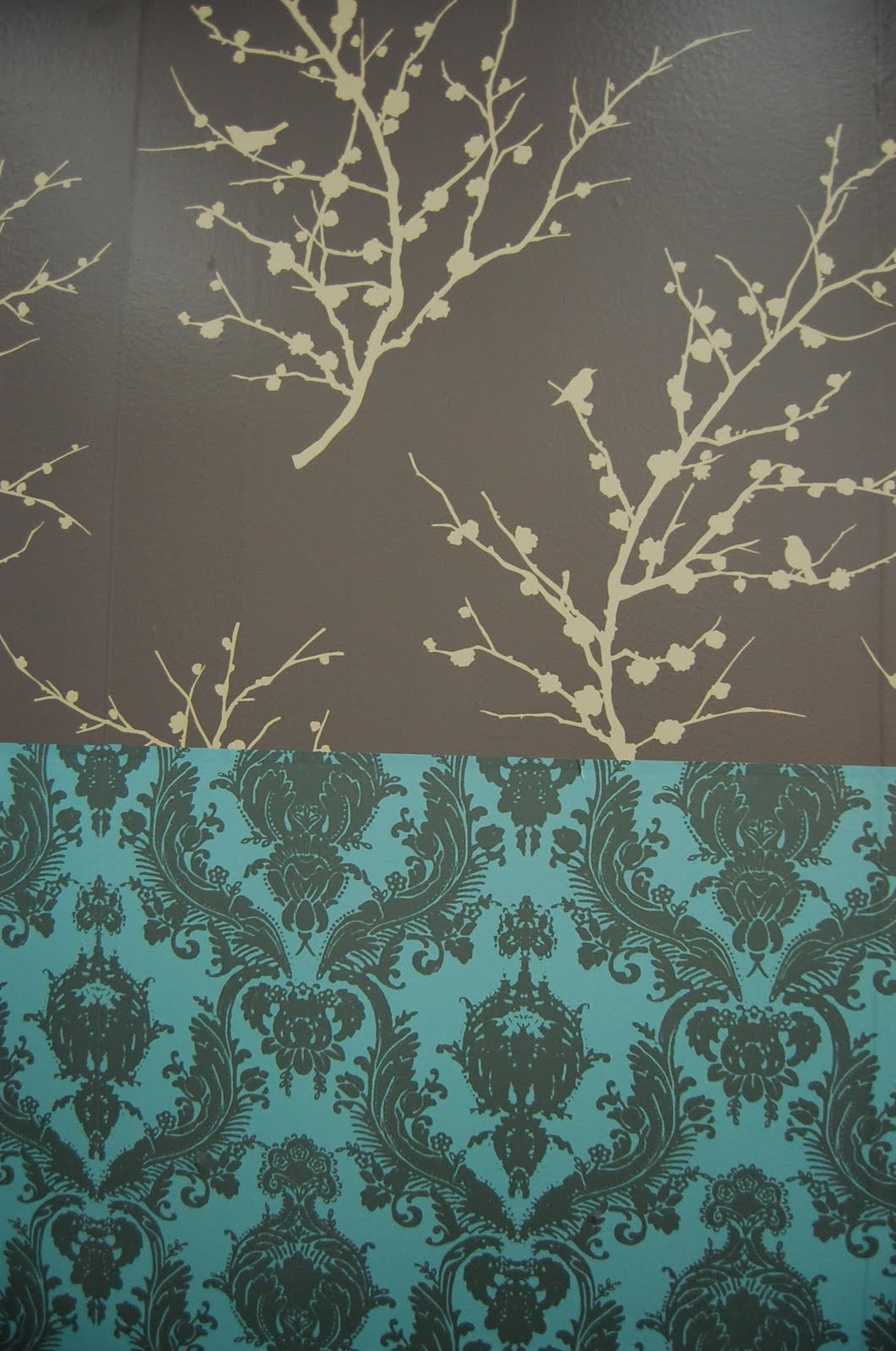Chateau bungalow tempaper temporary wallpaper for Temporary wallpaper