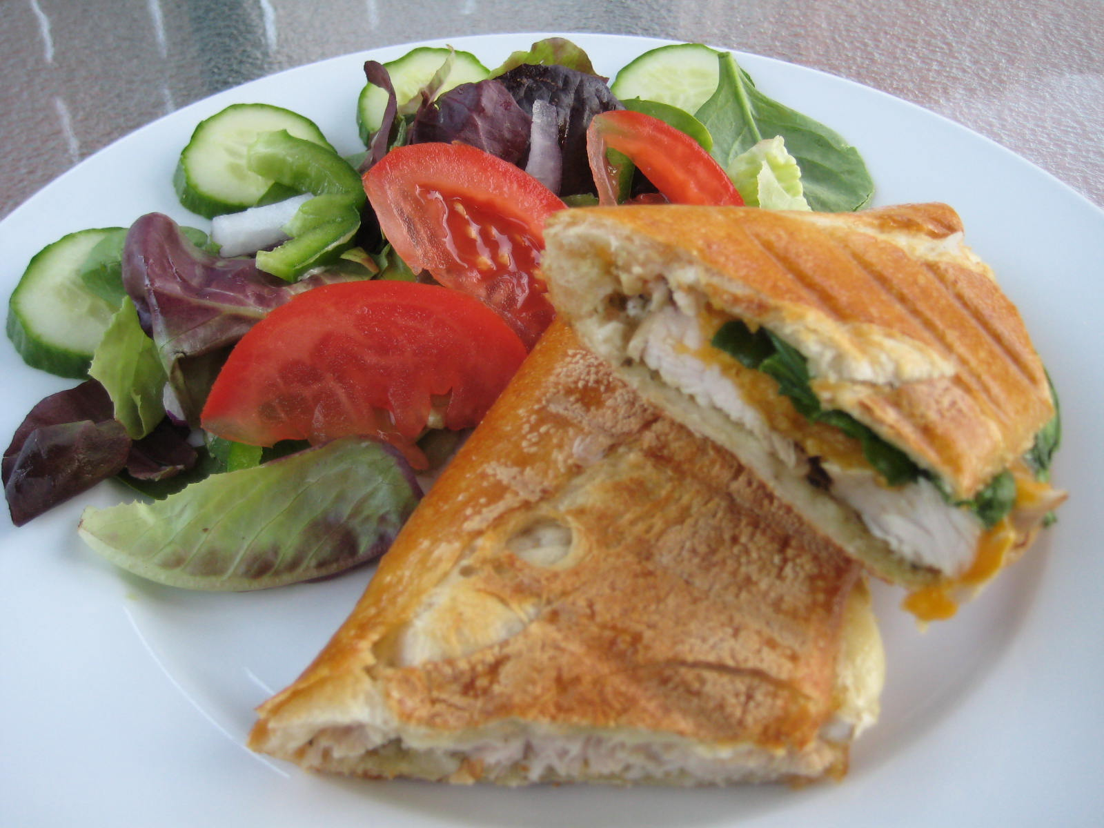 Turkey, Brie And Pesto Panini Recipe — Dishmaps
