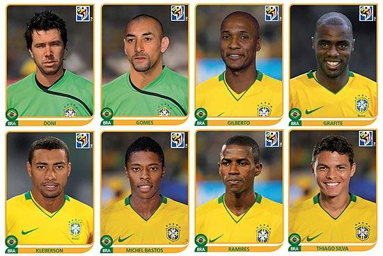 0dabe2a2777de Panini lança as novas figurinhas dos jogadores da seleção brasileira ...