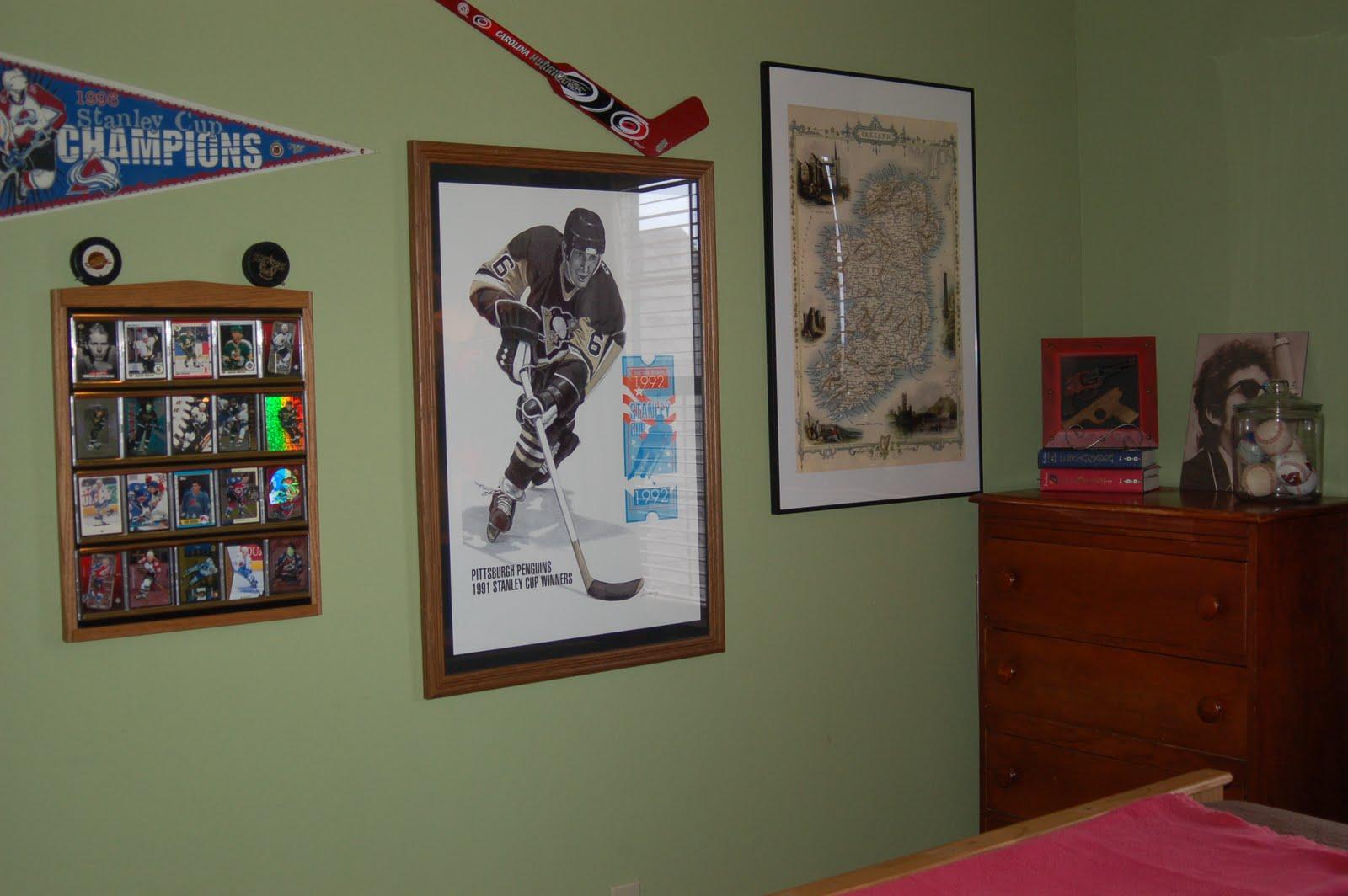 Pittsburgh Penguins Bedroom Decor Teenage Boys Bedroom