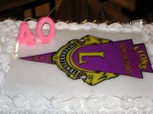festiva de aniversário 40 anos