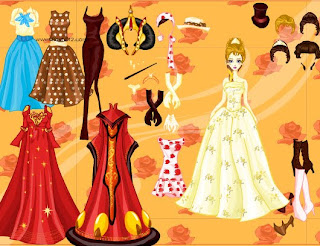 Juego de vestir a la reina Silvia