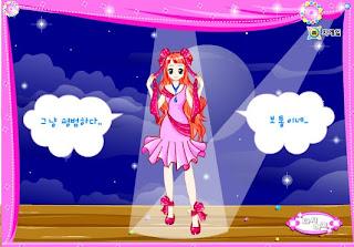 Vestir a la princesa cantante