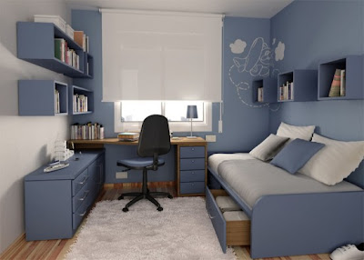 Interior Design Education: Thoughtful Teenage Bedroom I
