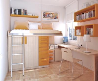 ... interior decoration: Thoughtful Teenage Bedroom Int