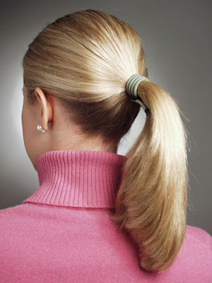 Hairstyles For Short Hair In Ponytail : Ponytail Hairstyles: Ponytail hairstyles For Medium Short Hair