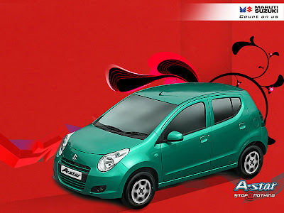 The stylish, sporty car comes in three variants, the Maruti Suzuki A-Star
