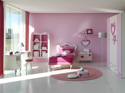 Cool Modern Pink Girls Bedrooms Design Ideas