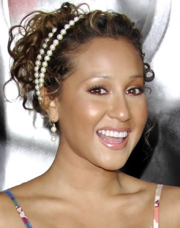 cool hairstyles for girls with curly hair. 2010 Curly Ponytail Hairstyles
