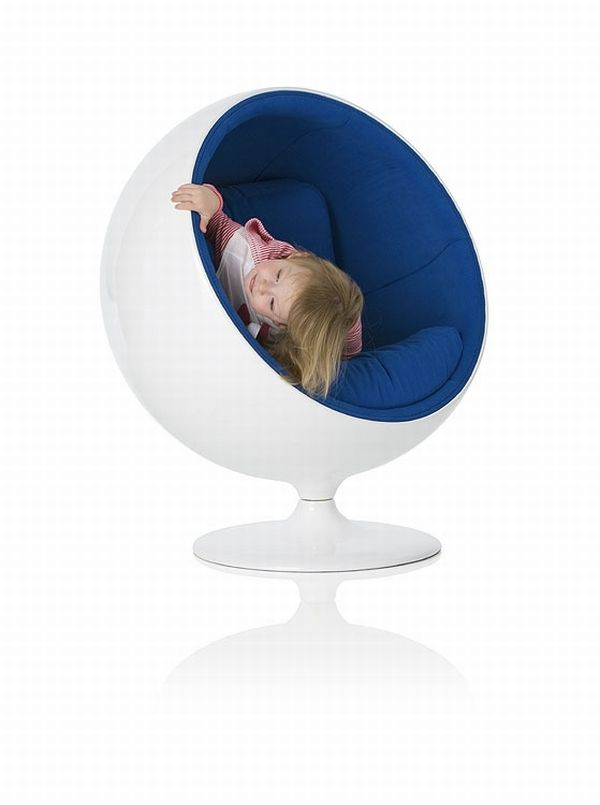 Famous chair designs for children for Kids sitting furniture