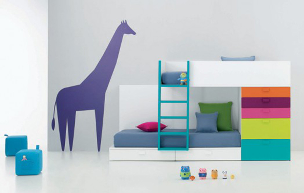 Beautiful kids bedroom decorating ideas by bm kids for Kids bed design
