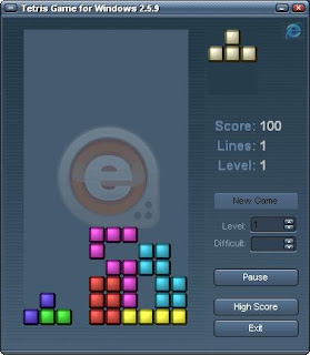 Portable Tetris Game for Windows 2.5.9