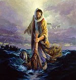 Are you drowning? Are you looking for someone to save you? He will.