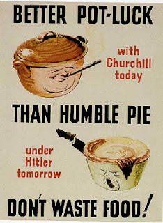 wartime poster Don't Waste Food