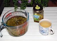 blackberry leaf tea time