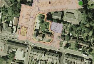 Poynton Waitrose aerial plan