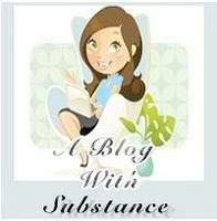 A Blog With Substance Award!