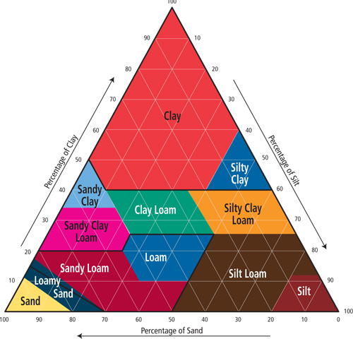 The soil and soil profile for Soil classification