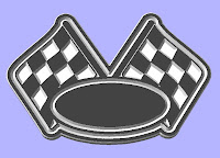 artwork for cnc plasma cutters and wood routers,Checkered Racing Flag