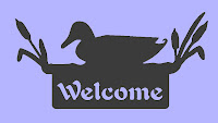 free dxf files plasma,Welcome Duck