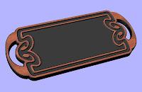 Tray CNC DXF