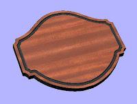Plaque 9 CNC DXF