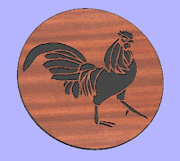 Rooster 1 CNC DXF