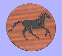 Horse 5 CNC DXF