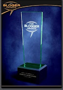 Blogger Award Trophy