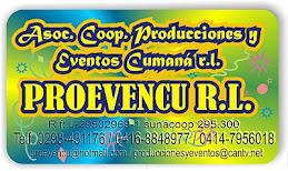Producciones y Eventos Cumana PROEVENCU