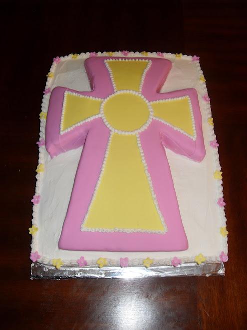 Baptism Cake / Religious