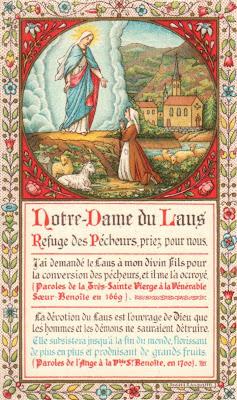 Notre Dame du Laus : la Belle Dame du Vallon des Fours (I) Le+Laus13