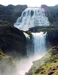3. The waterfall 'Dynjandi'