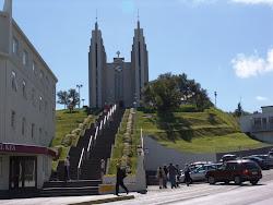1. Akureyri - The church