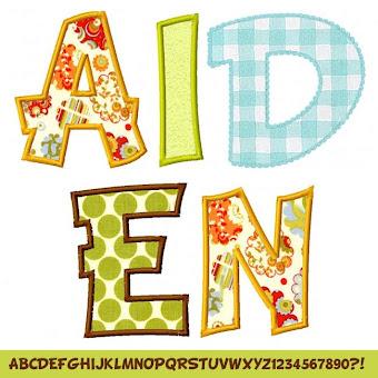 Aiden Alphabet