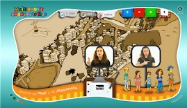 Jogos em português e Libras...
