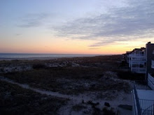 Ocean City Winter Beach Sunset
