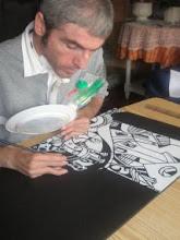 pintando CUIDAD FANTASIA