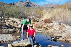Cathy & our Son Matt