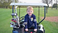 First Golf Game. Lansing Country Club 2010