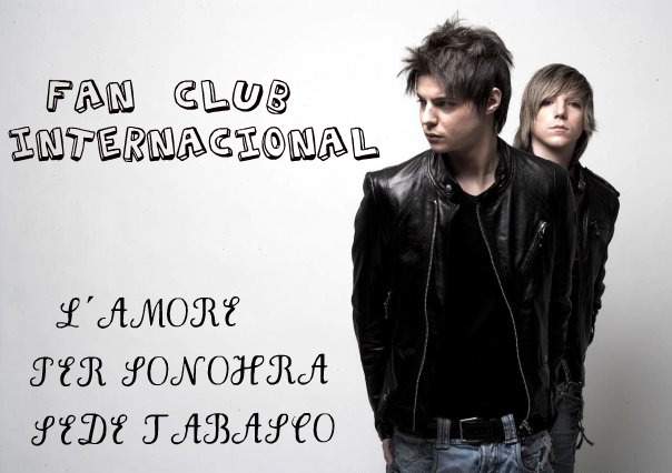 FAN CLUB INTERNACIONAL L´AMORE PER SONOHRA