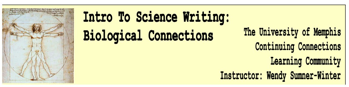 Wendy Sumner-Winter - Intro to Science Writing