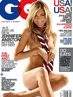 Espectacular E Infartante Jennifer Aniston En La Potada De Gq