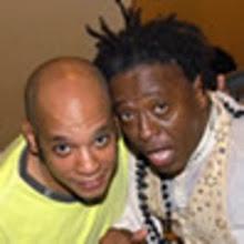 Vander Lee e Maurício Tizumba