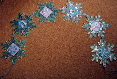 Christmas Snowflake Wall Hanging