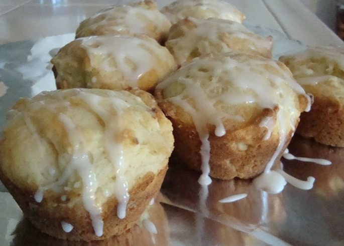 Don't Need no Stinkin' Wheat: Meyer Lemon Ricotta Muffins