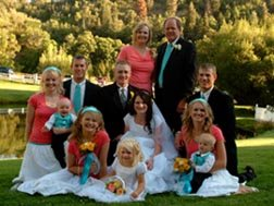 All of Us at Devin's Wedding